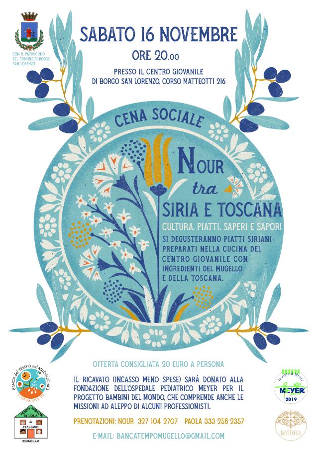 Nour tra Siria e Toscana