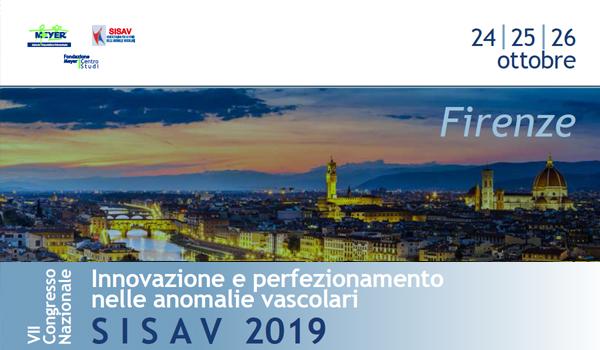 SISAV 2019 – Innovazione e perfezionamento nella anomalie vascolari
