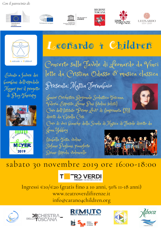 Concerto benefico Leonardo 4 Children