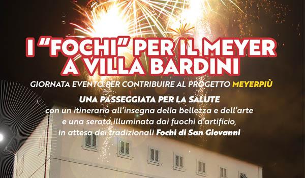 """I """"fochi"""" per il meyer a Villa Bardini"""