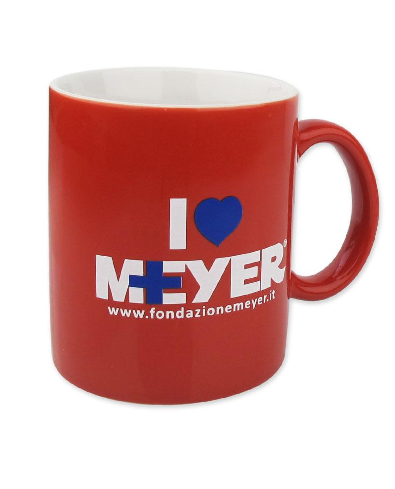Tazza Rossa I Love Meyer