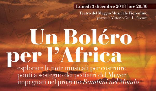 Un Bolero per l'Africa