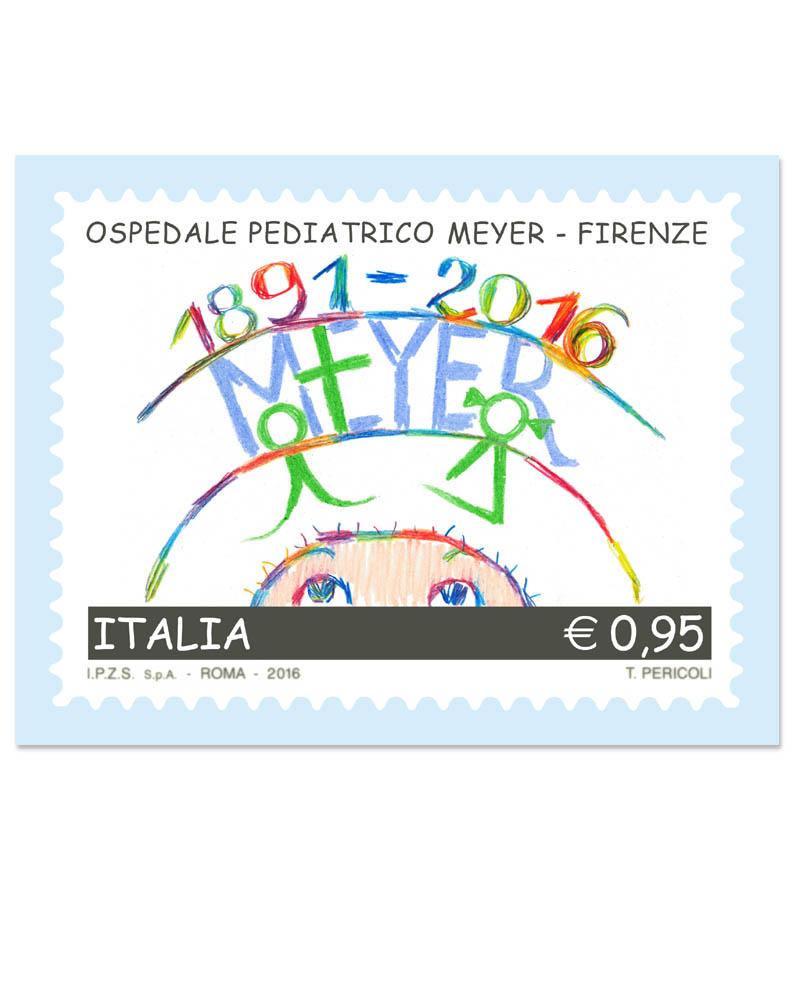 Folder con francobollo celebrativo 125 anni