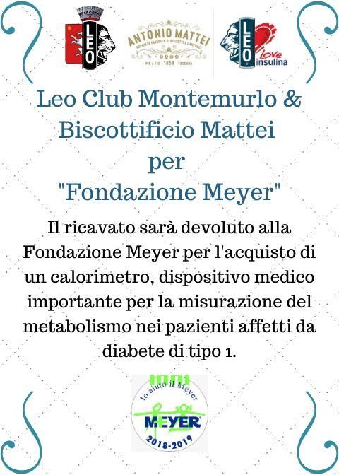 Scesa in Piazza – LeoClub Montemurlo & Biscottificio Mattei