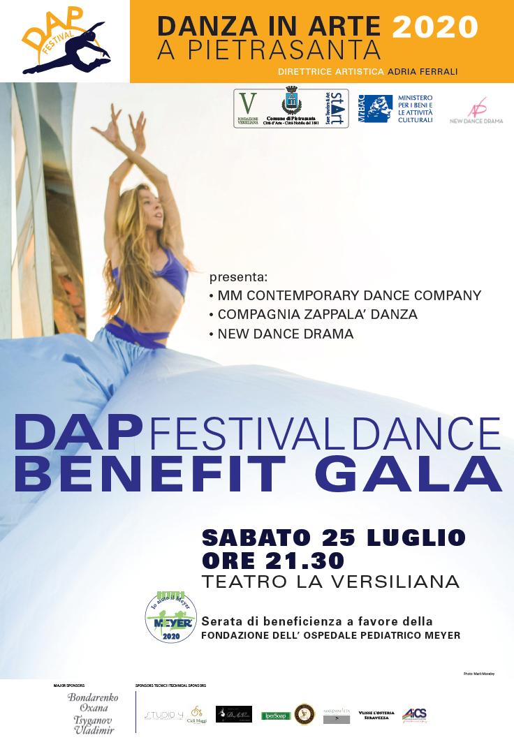 Il DAP Festival presenta Dance Benefit Gala