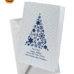 Biglietto pregiato con albero blu (BP01)-10