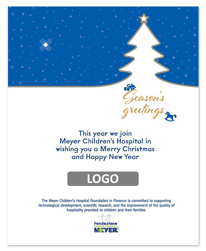 Email augurale con logo aziendale (EBA02)