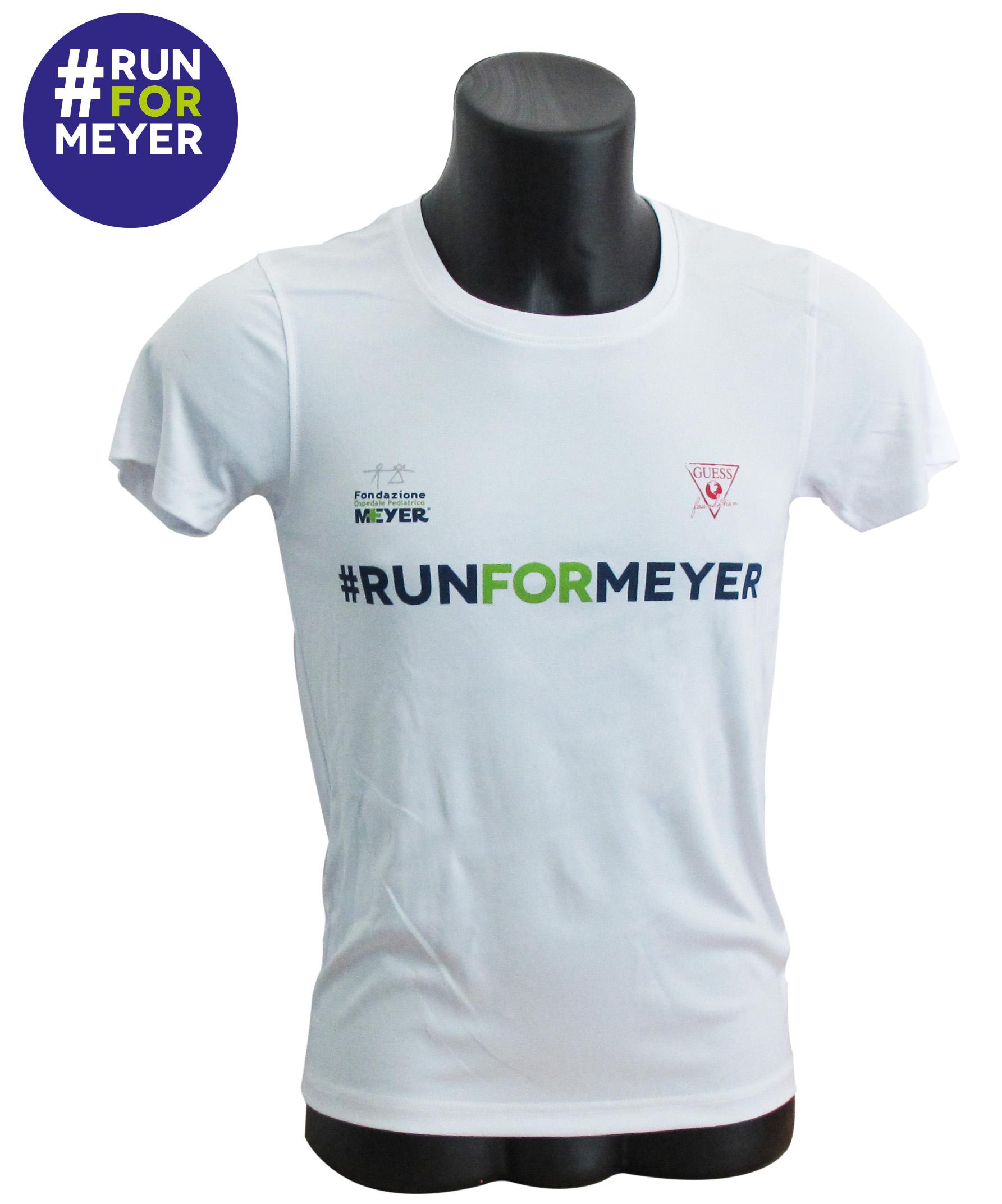 #runformeyer t-shirt tecnica da running