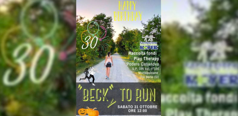 """Beck""y to run"