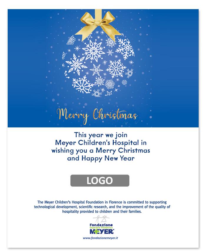 Email augurale con logo aziendale (EA11)